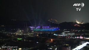 آتش بازی افتتاحیه المپیک زمستانی