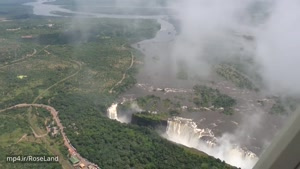 آبشار ویکتوریا و زامبیا و زیمباوه