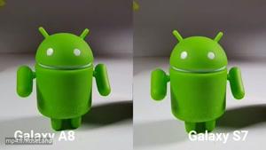 تست دوربین دو گوشی گلکسی اس 7 و گلکسی A8