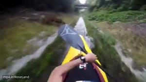 هیجان در کایاک سواری