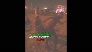 محسن افشانی این بار در سواحل کیش