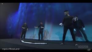 """ترکیب بی نظیر تکنولوژِی و موسیقی در """" کنفرانس اینتل در CES ۲۰۱۸"""""""