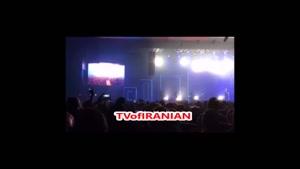 حضور عروس و داماد در کنسرت محسن یگانه
