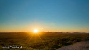 حرکت خورشید در آلاسکا