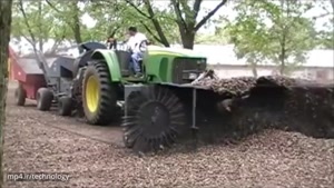 ماشین آلات شگفت انگیز کشاورزی معاصر شگفت انگیز مگا ماشین آلات سنگین: تراکتور، هاروستر، Ditcher