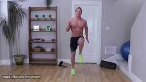 با این حرکات چربی های ران و ساق پا را از بین ببرید