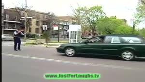 دوربین مخفی عوض کردن پلاک ماشین