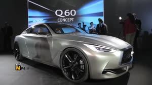 معرفی خودروی جدید شرکت اینفینیتی به نام Q۶۰