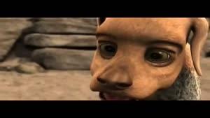 انیمیشن آدم سنگی