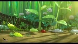 انیمیشن کوتاه و خنده دار کرم ها - به دنیا اومدن