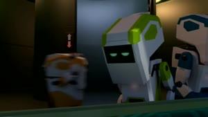 انیمیشن خرس قطبی و ربات ها