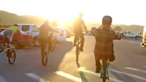 پارکور با دوچرخه