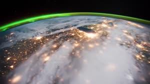 تایم لپس تماشایی زمین از فضا