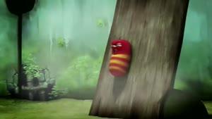انیمیشن کوتاه و خنده دار کرم ها - طوفان