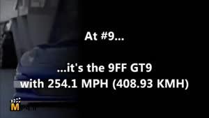 سریع ترین اتومبیل های جهان در سال ۲۰۱۴