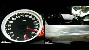 تست ۰ تا ۳۰۰ کیلومتر خودرو ها به ترتیب