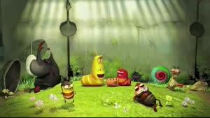 انیمیشن کوتاه و خنده دار کرم ها - باد شکم
