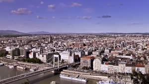بوداپست در گذر زمان ( تایم لپس )