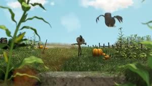 انیمیشن کوتاه و خنده دار کلاغ اذیت کن تو مزرعه