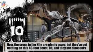 ۱۰ هیولای وحشتناک تاریخ