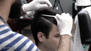 درست کردن مدل موی جدید پسرانه