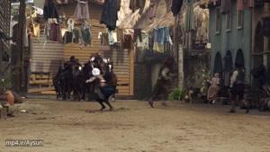پشت صحنه ی فیلم دزدان دریایی با بازی جانی دپ