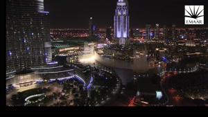 آتش بازی جذاب در دبی