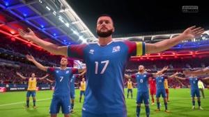 شبیه سازی تشویق ایسلندی در فوتبال