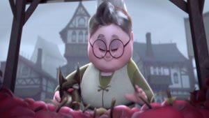 انیمیشن کوتاه پای مادر بزرگ