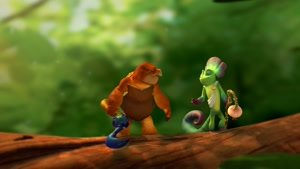 انیمیشن کوتاه و جذاب Lizard Quest
