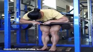 درگیر کردن عضله قدامی(جلویی) ساق پا ایستاده