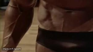 فیگور گیری آرنولد شوارتزنگر در مسابقات پرورش اندام