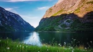 تایم لپس فوق العاده از شهر نروژ