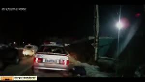 شکار تصادف ماشین با دوربین - راننده های بد قسمت ۳