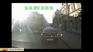 شکار تصادف ماشین با دوربین - راننده های بد قسمت ۵