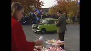 فیلم کمدی مستربین - له شدن ماشین