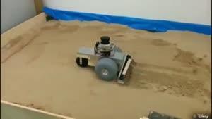 روباتی برای نقاشی روی شن