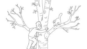 گربه ی سایمون -این قسمت درخت