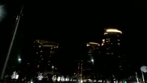 آتش بازی سال نو در برج خلیفه