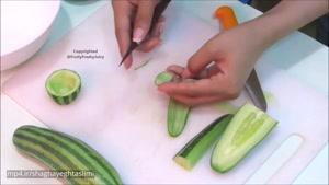 تزیینات میوه و سبزیجات برای سفره آرایی ۹