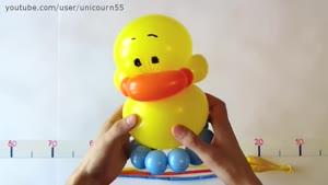 آموزش ساخت اردک با بادکنک