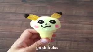 تزیین بستنی