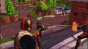 Fortnite Mobile gameplay-NovinSpot.com