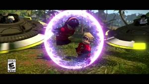 تریلر رسمی بازی LEGO The Incredibles