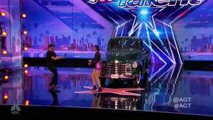 انعطاف بدنی فوق العاده در مسابقه America's Got Talent
