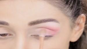 آموزش خط چشم با الناز گلرخ