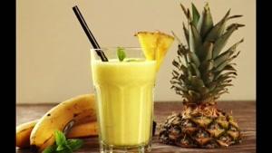 آموزش اسموتی آناناس و موز