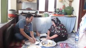 طرز تهیه نان خلفا(گیلانی)