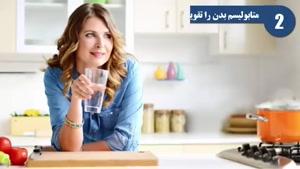 مزیت آب نوشیدن با معده خالی