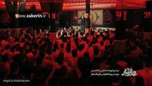 حاج حسین سیب سرخی - شهادت امام سجاد (ع) ۱۳۹۶ منم و گریه و ناله